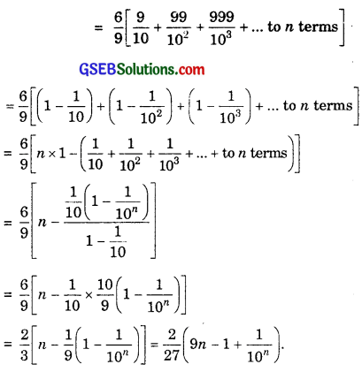 GSEB Solutions Class 11 Maths Chapter 9 Sequences and Series Miscellaneous Exercise img 13