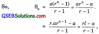GSEB Solutions Class 11 Maths Chapter 9 Sequences and Series Miscellaneous Exercise img 2