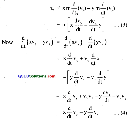 GSEB Solutions Class 11 Physics Chapter 7 System of Particles and Rotational Motion img 7