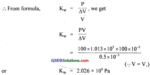 GSEB Solutions Class 11 Physics Chapter 9 Mechanical Properties of Solids img 17