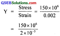 GSEB Solutions Class 11 Physics Chapter 9 Mechanical Properties of Solids img 3
