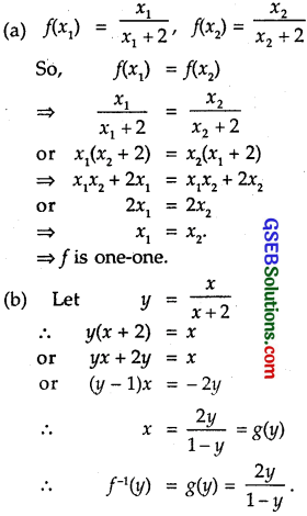 GSEB Solutions Class 12 Maths Chapter 1 Relations and Functions Ex 1.3 3