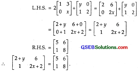 GSEB Solutions Class 12 Maths Chapter 3 Matrices Ex 3.2 9