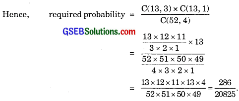 GSEB Solutions Class 11 Maths Chapter 16 Probability Miscellaneous Exercise img 2