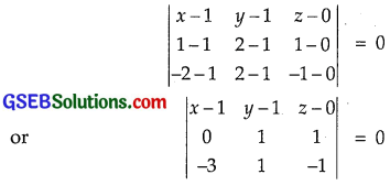GSEB Solutions Class 12 Maths Chapter 11 Three Dimensional Geometry Ex 11.3 img 4