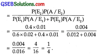 GSEB Solutions Class 12 Maths Chapter 13 Probability Ex 13.3 img 7