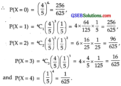 GSEB Solutions Class 12 Maths Chapter 13 Probability Ex 13.4 img 8