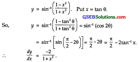 GSEB Solutions Class 12 Maths Chapter 5 Continuity and Differentiability Ex 5.3 3