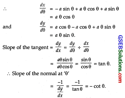 GSEB Solutions Class 12 Maths Chapter 6 Application of Derivatives Miscellaneous Exercise 5