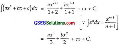 GSEB Solutions Class 12 Maths Chapter 7 Integrals Ex 7.1 img 3