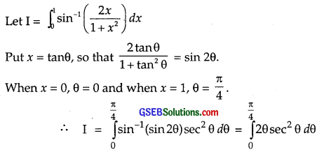 GSEB Solutions Class 12 Maths Chapter 7 Integrals Ex 7.10 img 3