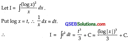 GSEB Solutions Class 12 Maths Chapter 7 Integrals Ex 7.2 img 2