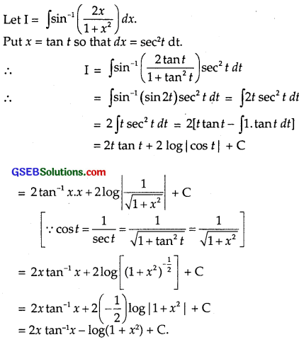 GSEB Solutions Class 12 Maths Chapter 7 Integrals Ex 7.6 img 24