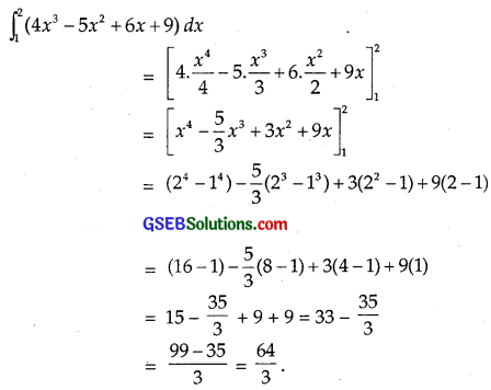 GSEB Solutions Class 12 Maths Chapter 7 Integrals Ex 7.9 img 3