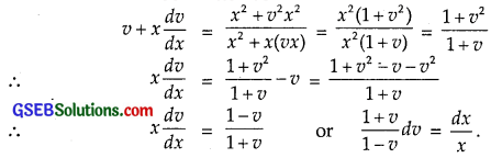 GSEB Solutions Class 12 Maths Chapter 9 Differential Equations Ex 9.5 img 2
