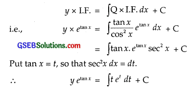 GSEB Solutions Class 12 Maths Chapter 9 Differential Equations Ex 9.6 img 2