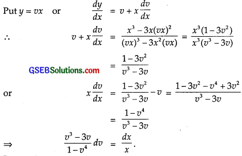GSEB Solutions Class 12 Maths Chapter 9 Differential Equations Miscellaneous Exercise img 3
