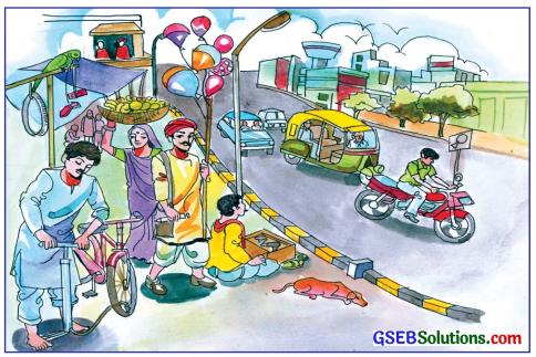GSEB Solutions Class 7 Hindi Chapter 1 चित्र के संग-संग 1
