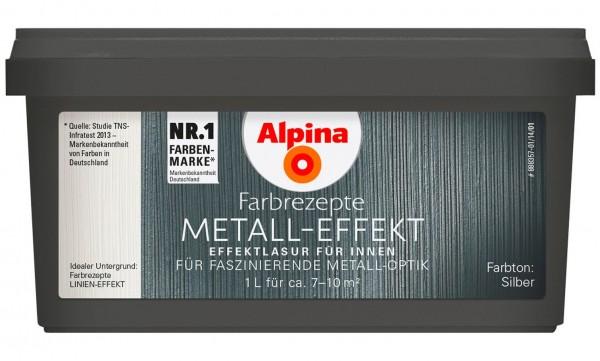 Alpina Farbrezepte Metall-Effekt GS FASHION & DESIGN