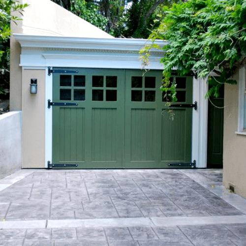 Garage Door Color Ideas on Garage Colors  id=64473