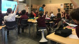 Focused Motion. The school's current renovation project has created classrooms that allow students to better focus and engage each day in the classroom.