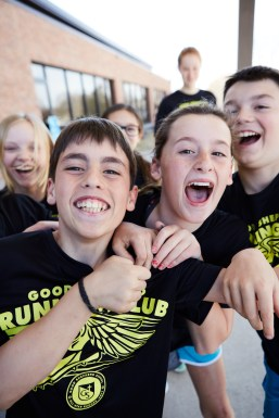 Enthusiasm. There are no dull days at Good Shepherd, and the students' collective energy is clear the moment you step on campus.