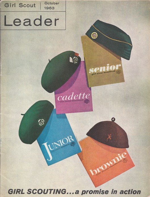 The October 1963 issue of Leader magazine kicked off the new program.