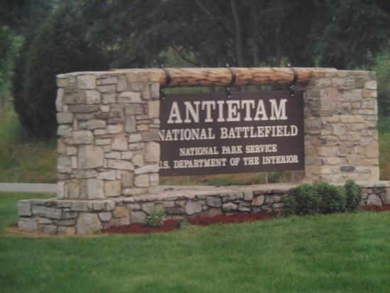antietam sign