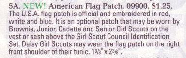 flag sash