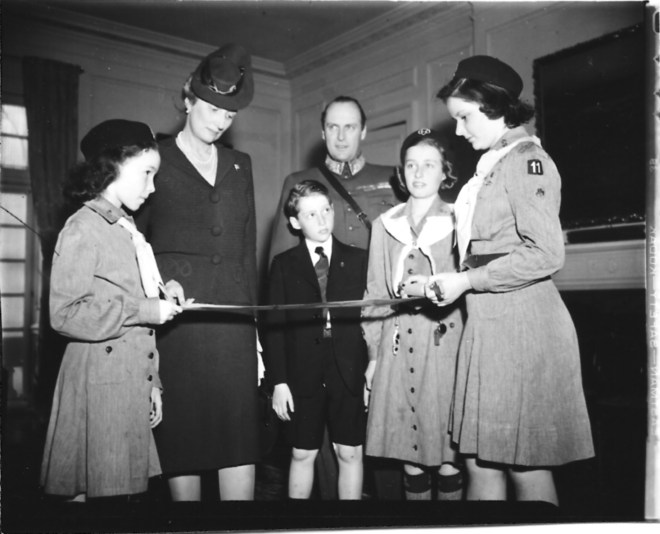 Atlantic Crossing omitted the Girl Scout birthday party at the Norwegian Embassy.