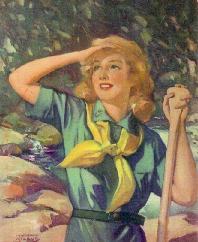 1939 Girl Scout uniforms