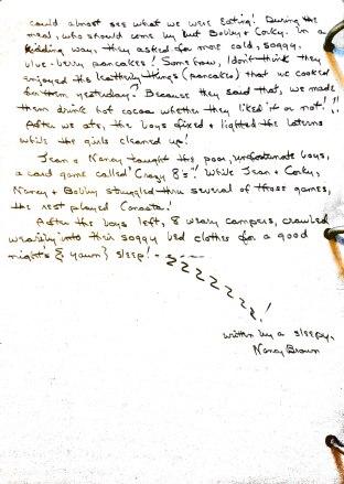 Sherando Lake Log 1951 page 11