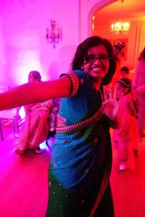 Arpita dancing.