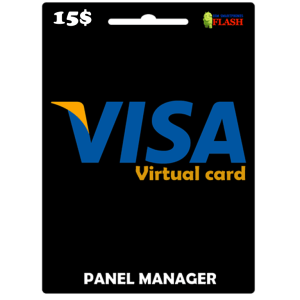 Prepaid Virtual Visa Card 15 USD (works worldwide)