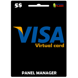 Prepaid Virtual Visa Card 5 USD (works worldwide)