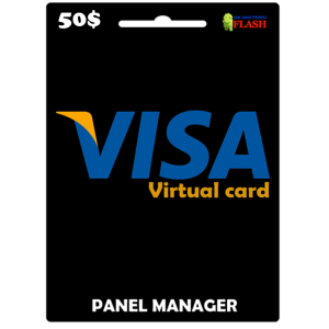 Prepaid Virtual Visa Card 50 USD (works worldwide)