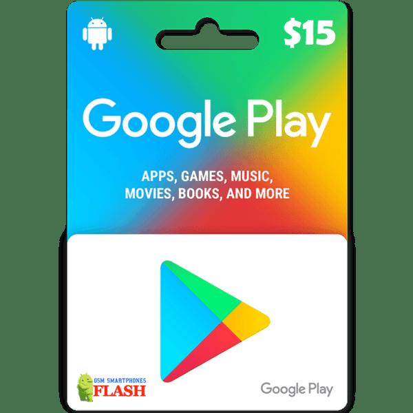 Google Play Gift Card 15USD (US)