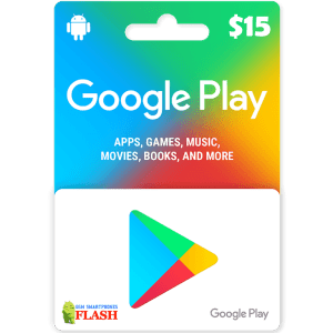 Google Play Gift Card 15USD (US)