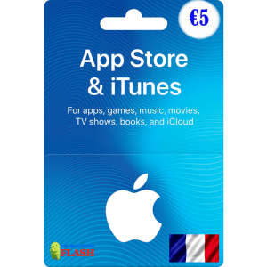 iTunes Gift Card 5 EURO France (FR)