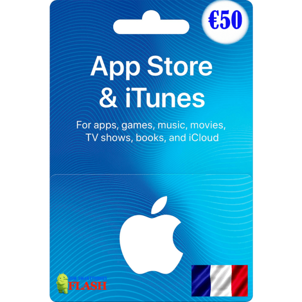 iTunes Gift Card 50 EURO France (FR)