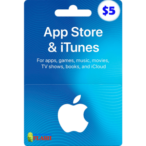 iTunes Gift Card 5 USD (US) Best Price