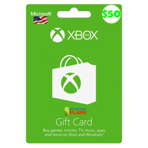 Xbox Live Gift Card 50 USD Email Delivery (US)