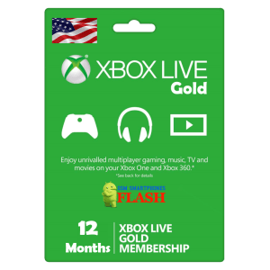 Xbox Live Gold 12 Months Membership (US)