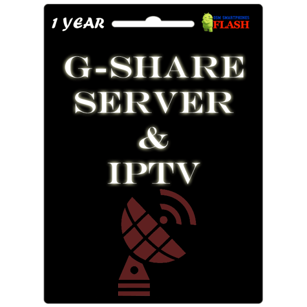 Gshare Server Official 1 Year Subscription
