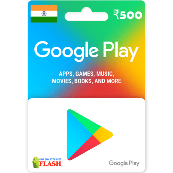 Google Play Gift Card 500 INR (IN)