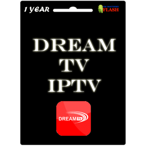 Dream TV 1 Year Subscription (Best Price IPTV)