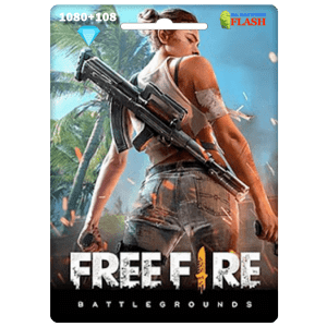 Free Fire 1080 + 108 Diamonds Card Garena (Best price)