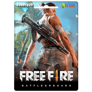 Free Fire 2200 + 220 Diamonds Card Garena (Best price)