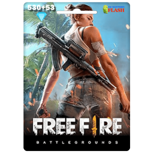Free Fire 530 + 53 Diamonds Card Garena (Best price)