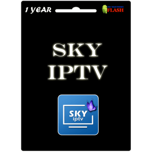 Sky Pro IPTV 1 Year Subscription (Best Price)